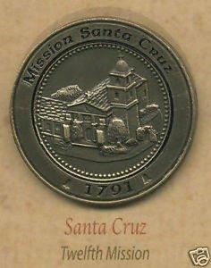 Amazon com: Santa Cruz California Mission Lapel Pin: Jewelry