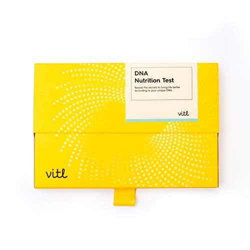 Vitl DNA Genetic Diet & Nutrition Health Swab Test Kit | 40+ Reports on Diet, Vitamin Needs, Exercise, Sleeping Habits…