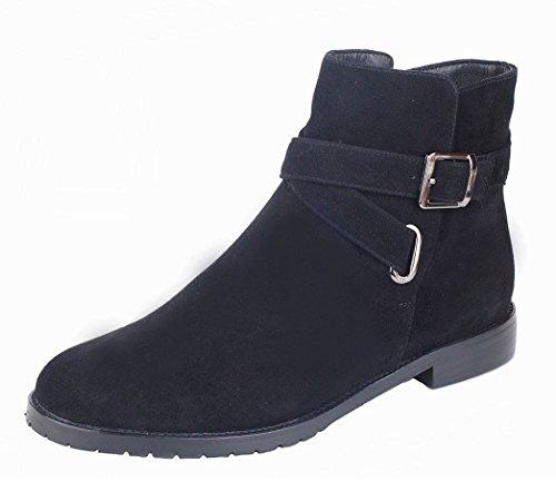 C Femme Vb6023 black De Neige Bottes Queenfoot XaIFx
