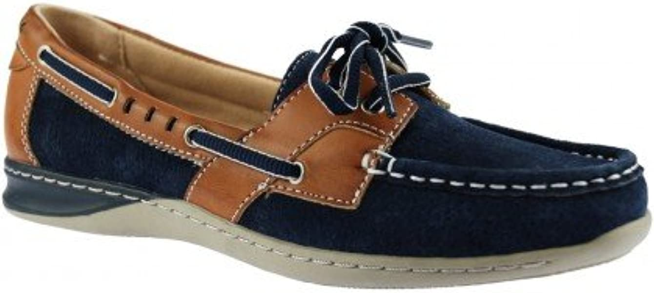 offer discounts outlet for sale coupon codes Earth Spirit Chicago Boat Shoes - Navy Blue: Amazon.co.uk: Shoes ...