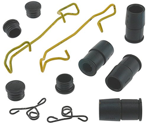 (ACDelco 18K1848X Professional Rear Disc Brake Caliper Hardware Kit with Springs, Bushings, and Caps)