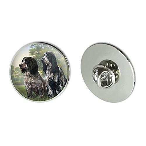 Pair of English Cocker Spaniel Dogs Metal 1.1