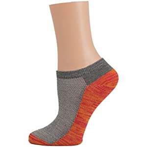 Women's Low Cut Sport Socks for Active Peformance and Running - 5 Pairs (9-11, Assorted)