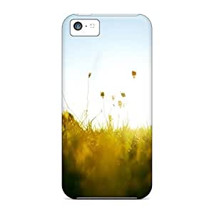 Anti-scratch And Shatterproof Nature Radiance Light Phone Cases For Iphone 5c/ High Quality Cases