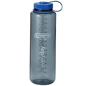 Nalgene Silo 1.5L Water Bottle - 1.5L (50oz) - Grey