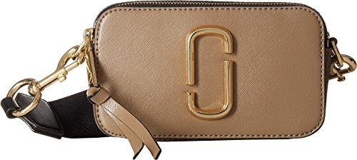 Marc Jacobs Women's Snapshot Camera Bag, French Grey Multi, One - Marc Women Bags Jacobs