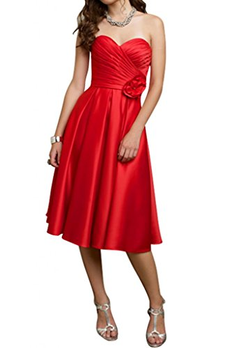 Superbe mariée Décolleté en cœur Fleur sobre et élégant avec houss'à froufrous en Satin pour robe authentique