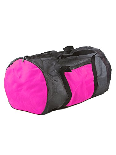 Rock N Sports Convertible mesh Backpack/Duffel Bag Pink