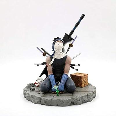 WerNerk Anime Naruto Shippuden Action Figure Momochi Zabuza Vinyl Figure Statue Action Collectible PVC Figurine Cartoon Toys for Anime Manga Fans: Home & Kitchen