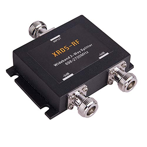 2-Way 50 Ohm Splitter n Female -3dB n-Female Signal splitters XRDS-RF