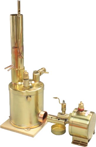 - SAITO model marine boiler BT-1L for Steam engine T1DR-L