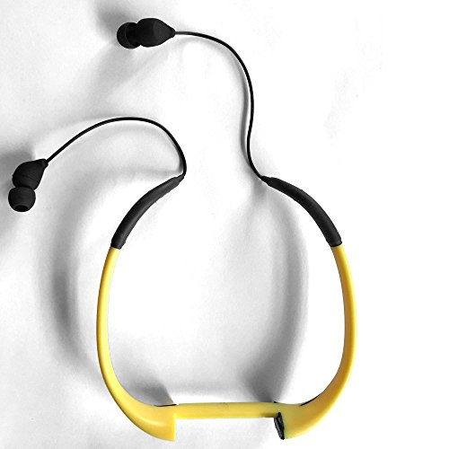 Tayogo Waterproof Headset Bone--For Tayogo MP3 Player WPM8 Yellow