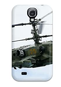 For Galaxy S4 Premium Tpu Case Cover Helicopter Protective Case