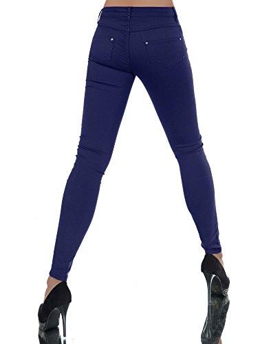 Basic Jeans jeans Dunkelblau Donna Skinny Diva qS8F40z4