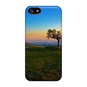 For Ipod Touch 4 Phone Case Cover - Tree And The Sunset Protective Cases Compatibel With For Ipod Touch 4 Phone Case Cover