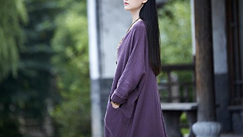 Violett Damen size Lazutom One Kleid TwIfBT4Uxq