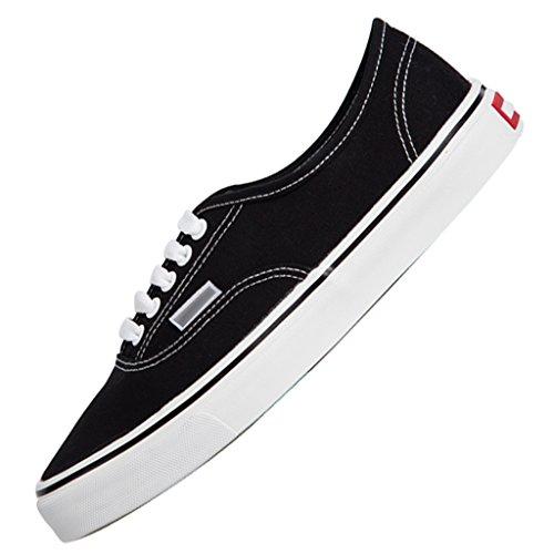 Scarpe Black le da basse coreano in da Scarpe tela basse per 35 stile aiutare uomo uomo Espadrillas in Size passeggio selvagge da scarpe Black YaNanHome Color qBZnXfq