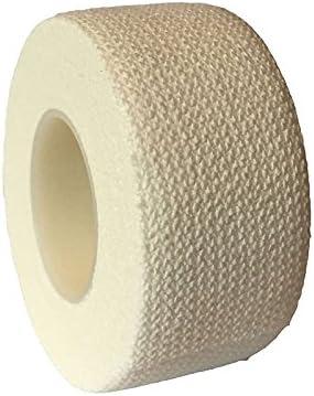 Rosepoem 접착 붕대 접착 포장 접착제, 손목 밴드 자동 접착 테이프-화이트 / Rosepoem Adhesive Bandage Adhesive Wrap Adhesive, Wristband Self Adhesive Tape - White