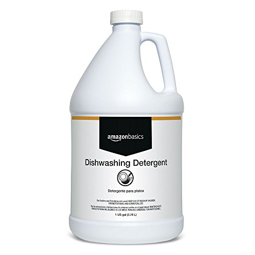 AmazonBasics Dishwashing Detergent, Concentrate, 1-Gallon, ()