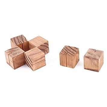 Dealmux Holz Haushaltshochzeits Quadrat Anmerkungs Protokoll