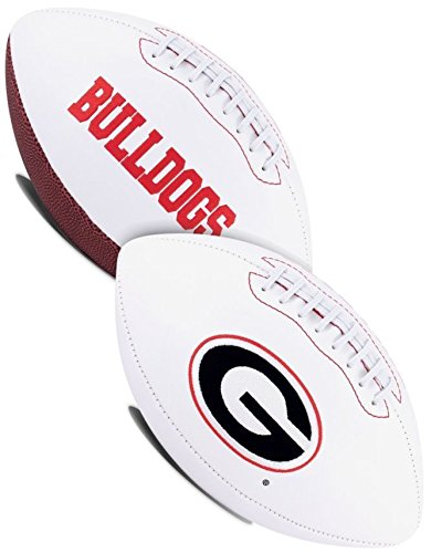 Bulldogs College Football (NCAA Signature Series College-Size Football)