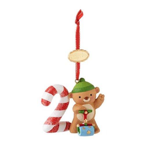 Amazon.com: Baby's First Christmas 2012 Hallmark Ornament ...