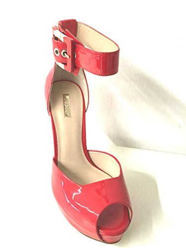 Guess Strappy Guess Ladies Strappy Sandals Sandals Red Ladies Red ZWOPqwxWgn