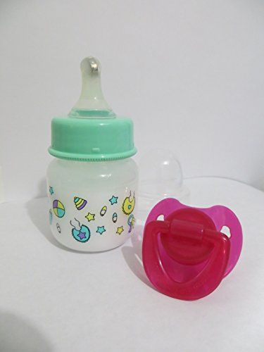 BABY ALIVE/SURPRISE BABY ALIVE 2 OZ BOTTLE AND PINK OR PU...