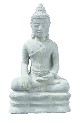 Laos Buddha Replica Stone Statue for Garden Home Decoration  Real Lava Sand