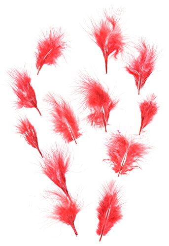 Zucker Feather (TM) - Loose Turkey Marabou Dyed - Red