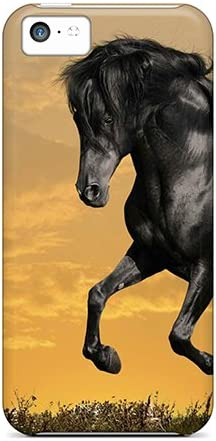 New Style Amanda Diary Hard Case Cover For Iphone 5c Horse Wallpaper Black Beauty Amazon Ca Cell Phones Accessories