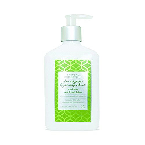 Natural Inspirations Hand & Body Lotion 12 Oz. - Eucalyptus Rosemary Mint by Natural Inspirations