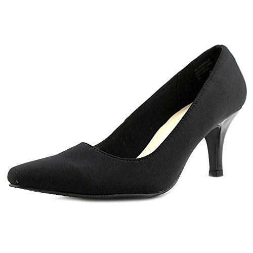 Leather Womens Black Clancy Pumps Neo Karen Scott Toe Classic suede Pointed fSxU6