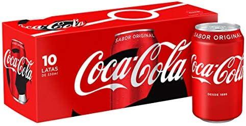 Coca-Cola - Lata 330 ml (pack de 10): Amazon.es: Alimentación y ...