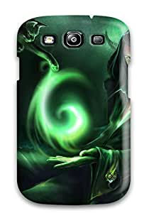 Kevin Charlie Albright's Shop New Style Premium Protective Hard Case For Galaxy S3- Nice Design - Glowing Spiral