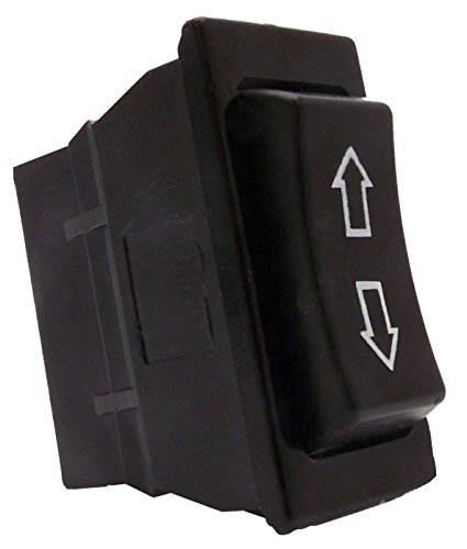 Sdootauto DC 12V 20A Momentary Power Window Rocker Switch 5 Pins DPDT for Auto Car (Universal Momentary Switch)