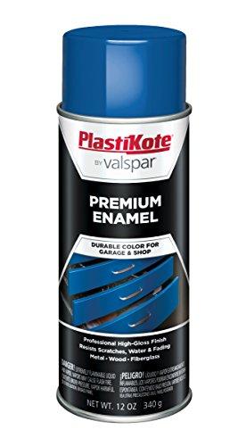 PlastiKote T-35 General Purpose Astro Blue Premium Enamel - 12 Oz.