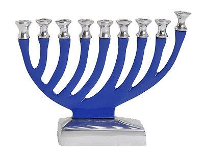Israel Giftware Designs M-634 5.75x7 Chanukah Menorah ()