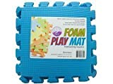 9-Tile Exercise Solid Foam Interlocking Playmat Kids Safety Play Floor
