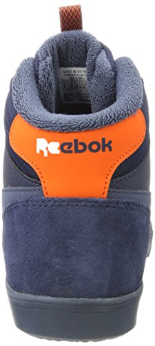 Reebok Herren Royal Complete 2 MW Hohe Hausschuhe Mehrfarbig (Collegiate Navy / Smoky Indigo / Energy Orange)