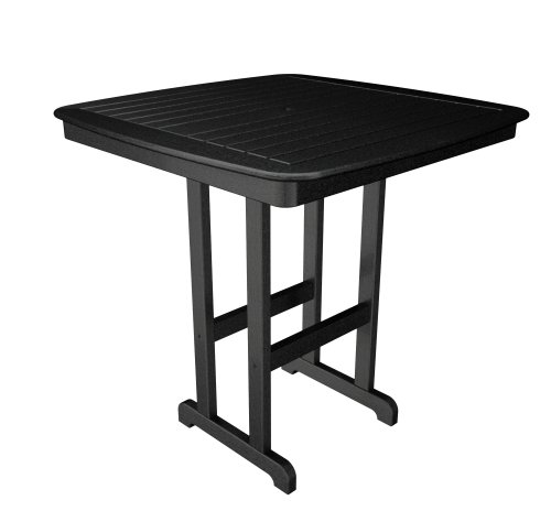 POLYWOOD NCBT44BL Nautical Table 44 Inch product image