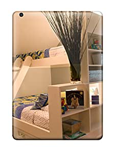 Mary P. Sanders's Shop 2174563K87858241 Top Quality Case Cover For Ipad Air Case With Nice White Bunk Beds With Attached Shelving Plus Angled Ceiling 038 Wall Mural Appearance