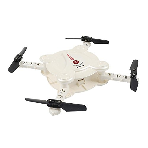 FQ777 FQ 17W Wifi FPV Foldable Pocket Drone With Camera Altitude High Hold Mode RC Quadcopter RTF by FQ777
