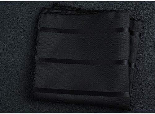 XMRB ハンカチ新しいファッションポケットスクエアグリーン海軍カラフルハンカチ22 * 22センチメートルシルクフローラルストライプペイズリーハンカチスーツメンズビジネスウェディング (色 : W39)