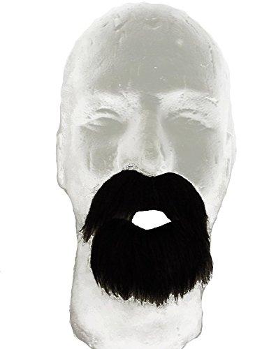 Amigo Dark Brown Western Cowboy Beard & Mustache Costume Set