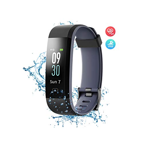 (Wonbo Fitness Tracker with Heart Rate Monitor,Color Screen Activity Tracker Smartwatch with Sleep Monitor,14 Sports Mode,Calories Counter,Pedometer,IP68 Waterproof Smart Bracelet for Women Men Kids)