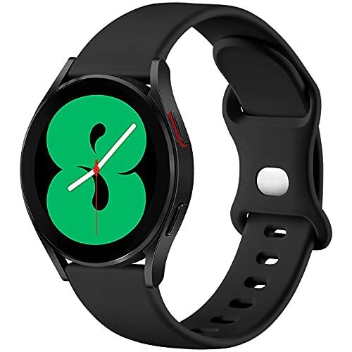 malla de silicona para samsung watch 4 negro talle L