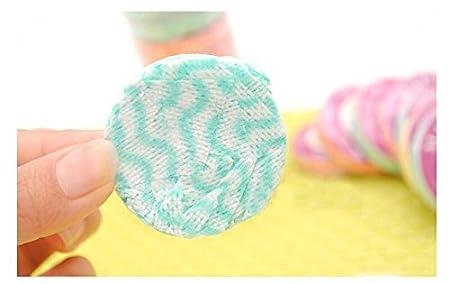 24 unidades de toalla de lavado facial de tela no tejida transpirable desechable de 28 x 40 cm, para limpieza profunda de la piel, cuidado de la piel, ...