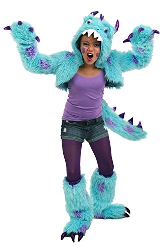 Princess Paradise Sullivan the Monster Shrug Costume Set, Multicolor, Tween (Monsters Inc Costume Women)