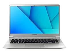 Your laptop should be as unstoppable as you are. Samsung Notebook 9 may be stunningly light, but when it comes to performance, it's anything but a lightweight. With a vibrant Full HD picture, the slim, durable design features a nimble SSD, fa...